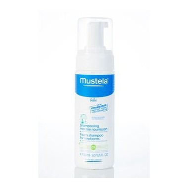 MUSTELA shampoing mousse nourrisson 150ml