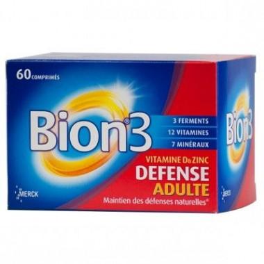 BION 3 Défense adulte 60 comprimés