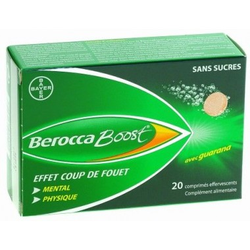 BeroccaBoost Boîte de 20 comprimés effervescents