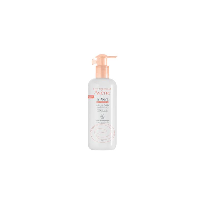 Avène Trixera Nutrition Lait Nutri-Fluide Flacon de 400ml disponible sur Pharmacasse