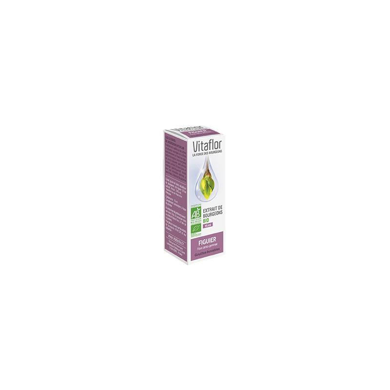 VITAFLOR Bourgeons Figuier 15ML disponible sur Pharmacasse