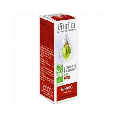 VITAFLOR Bourgeons Gingko 15ML