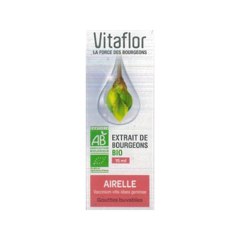 VITAFLOR Bourgeons Airelles 15ml disponible sur Pharmacasse