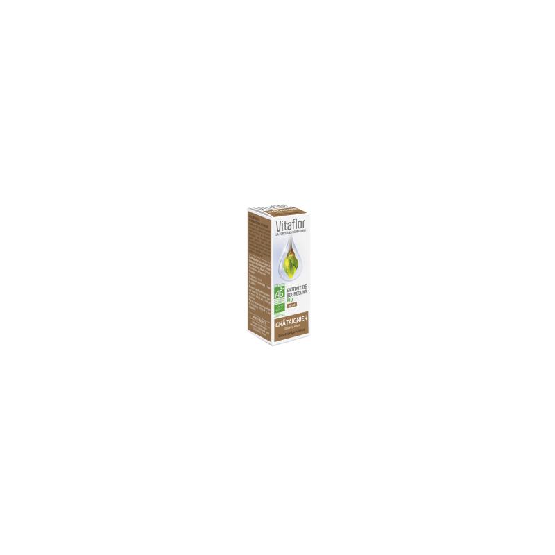 VITAFLOR Bourgeons Châtaignier 15ML disponible sur Pharmacasse