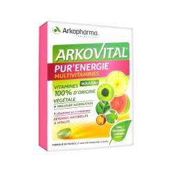 ARKOVITAL Pur Energie Multivitamines Boîte de 30 comprimés disponible sur Pharmacasse