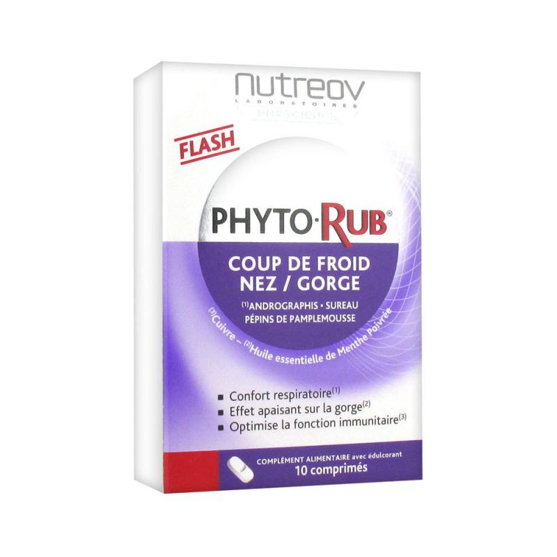 Nutreov Phyto-Rub 10 Comprimés disponible sur Pharmacasse