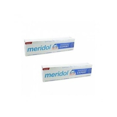 MERIDOL PARODONT EXPERT DENTIFRICE - LOT DE 2 X 75 ML