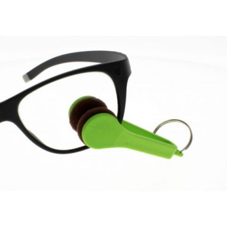 Pince Micro-fibre VISIO CLEAN BLEU pour nettoyer facilement  les verres de vos lunettes
