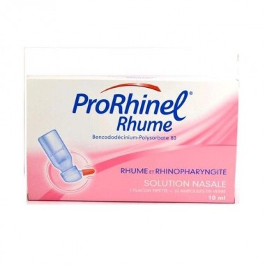 PRORHINEL Rhume solution nasale 20 récipients 5 ml