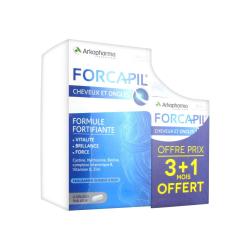 FORCAPIL Formule Fortifiante Boite de 180 gélules + 60 offertes