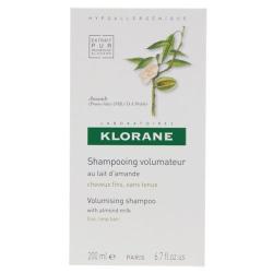 KLORANE shampooing au lait d'amande 200 ml