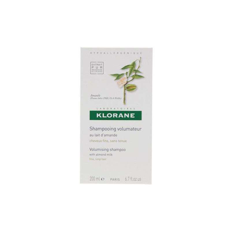 KLORANE shampooing au lait d'amande 200 ml disponible sur Pharmacasse