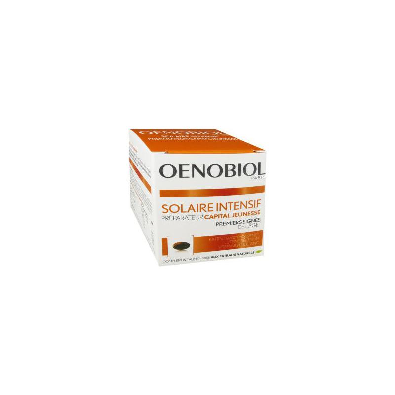 OENOBIOL solaire intensif capital jeunesse 30 capsules disponible sur Pharmacasse