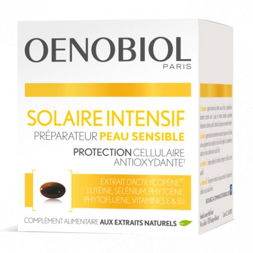 OENOBIOL solaire intensif peau sensible 30 capsules