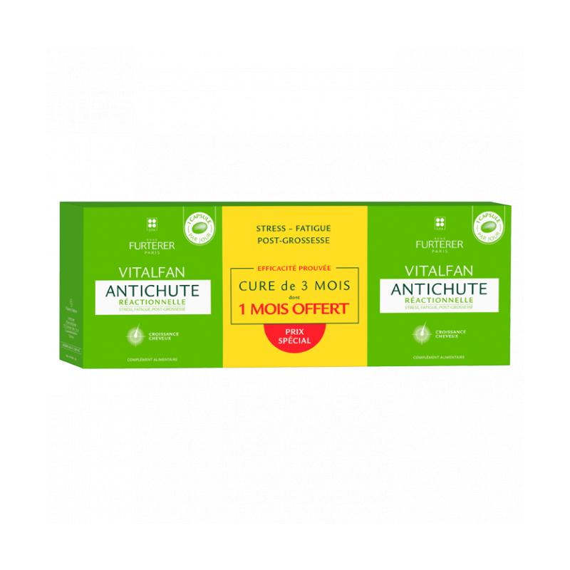 FURTERER  Vitalfan Anti-chute Progressive 3x30 capsules disponible sur Pharmacasse