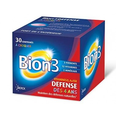 BION3 DEFENSE JUNIOR 30 Comprimés