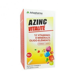 AZINC forme et vitalité 120 gélules