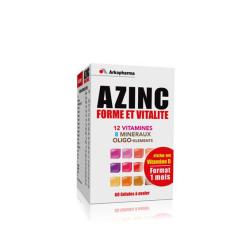 AZINC forme et vitalité 60 gélules