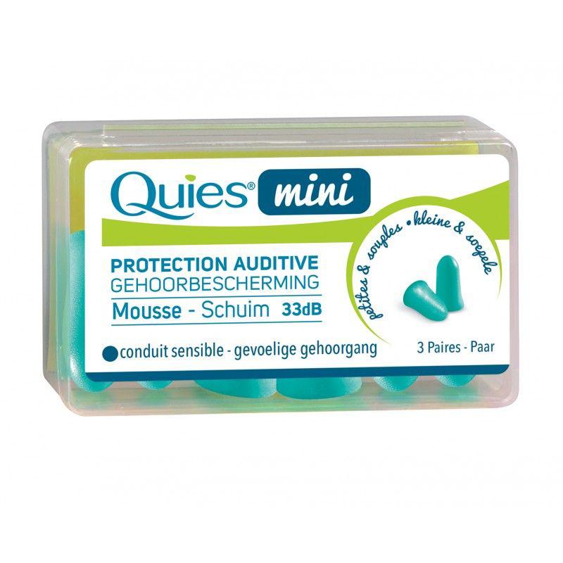 QUIES Mini Protection auditive disponible sur Pharmacasse