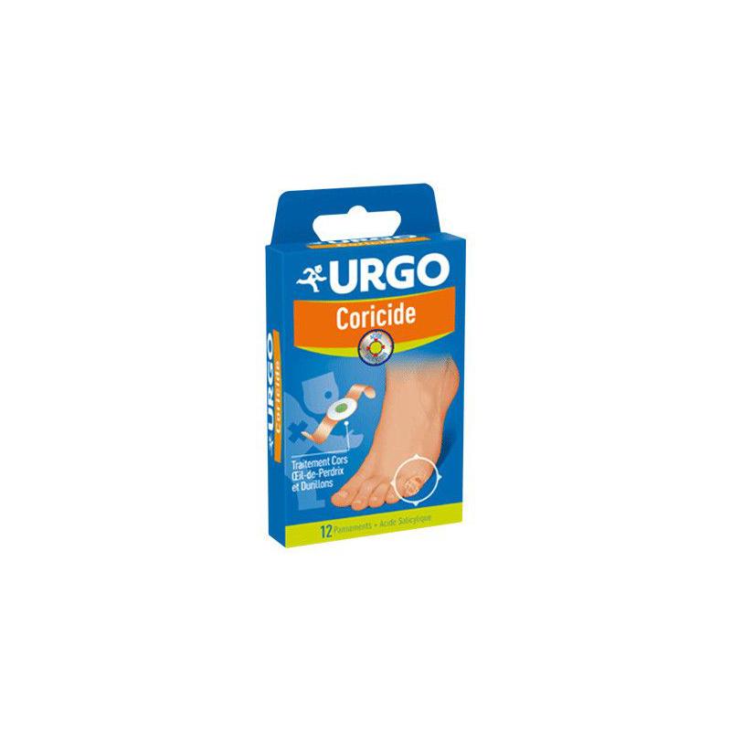 URGO Coricide boîte de 12 pansements disponible sur Pharmacasse