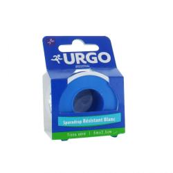URGO Sparadrap Résistant Blanc Tissu aéré 5m/2.5cm