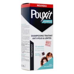 POUXIT - Shampooing traitant Anti poux et Lentes 200ml