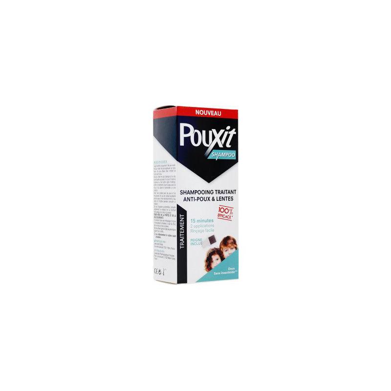 POUXIT Shampooing traitant Anti poux et Lentes 200ml disponible sur Pharmacasse