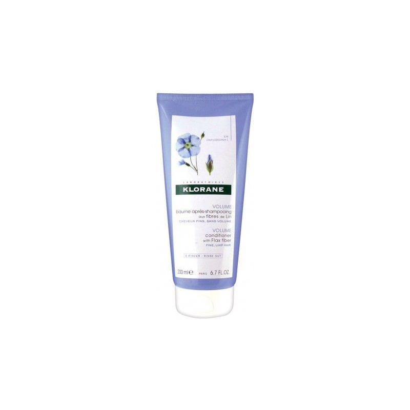 Klorane Baume Après-Shampooing aux Fibres de Lin 200ml disponible sur Pharmacasse