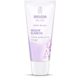 WELEDA Crème protectrice Visage à la Mauve blanche 50ml