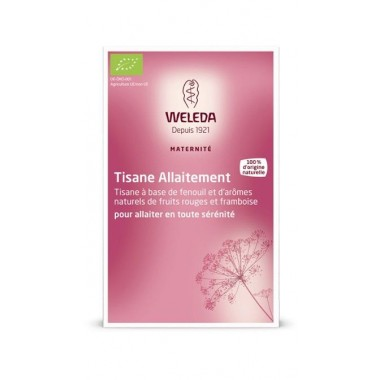 WELEDA Tisane Allaitement Fruits rouges 20 sachets de 2g