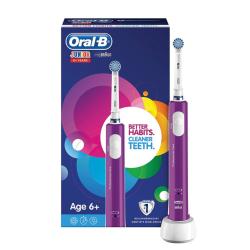 ORAL B JUNIOR Brosse à dents électrique violette