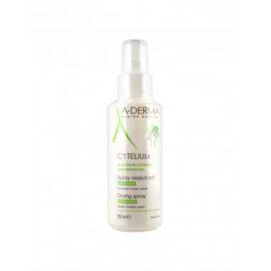 A-DERMA Cytelium Spray Asséchant Apaisant 100 ml