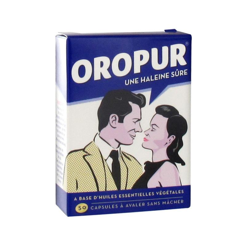 Oropur 50 Capsules disponible sur Pharmacasse