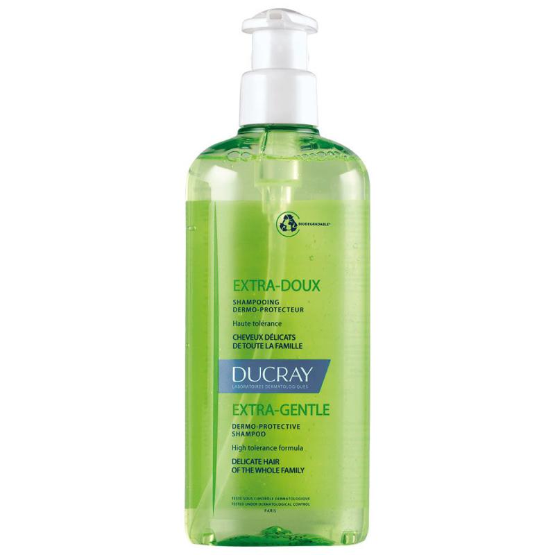 DUCRAY shampooing extra-doux dermo-protecteur flacon pompe 400ml disponible sur Pharmacasse