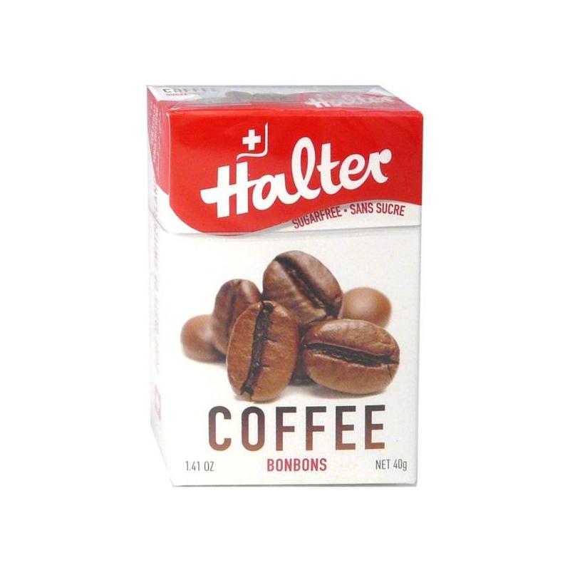 HALTER Bonbons sans sucre café 40G disponible sur Pharmacasse