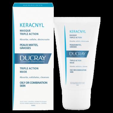 DUCRAY KERACNYL masque triple action tube 40ml