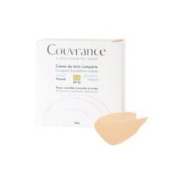 AVENE Couvrance Correcteur de Teint Crème de Teint Compacte Peaux Sensibles Sèches à Très Sèches 10 g - Teinte : 2.5 Beige