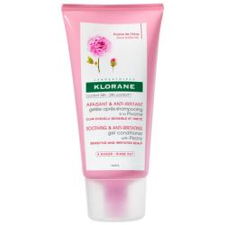 Klorane Apaisant Et Anti Irritant Gelée Après Shampoing À La Pivoine Cuir Chevelu Sensible 150ml