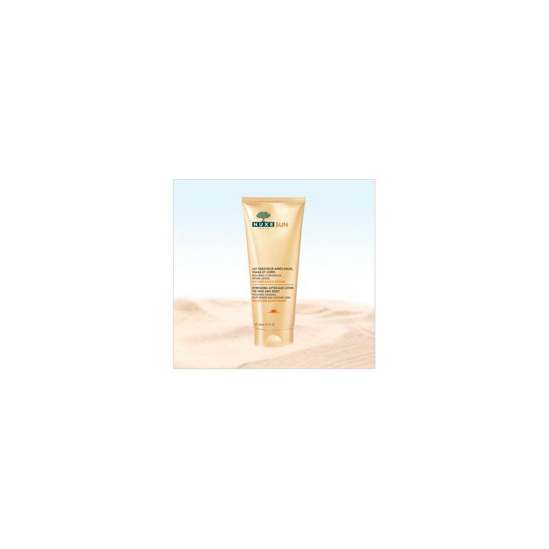 NUXE SUN Lait fraîcheur après-soleil visage et corps 200ml disponible sur Pharmacasse