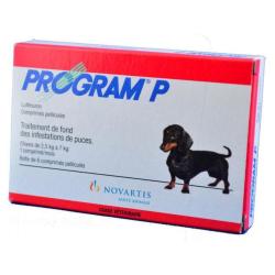 PROGRAM P CHIEN 2,5-7 KG COMPRIMES, anti puces pour petit chiens