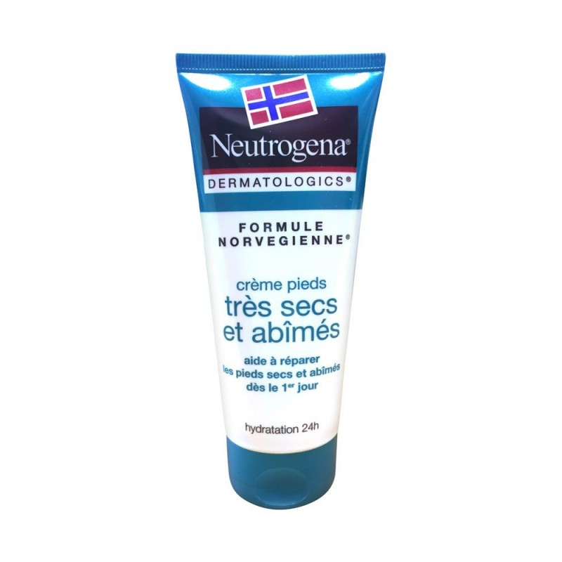 NEUTROGENA Crème pieds très secs et abîmés 100 ml disponible sur Pharmacasse