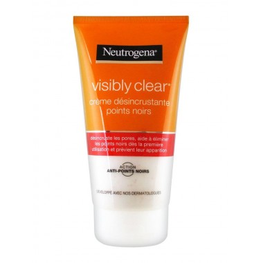 NEUTROGENA Visibly Clear Gel Nettoyant Exfoliant Pamplemousse Rose