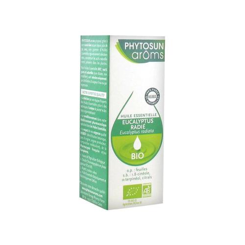 Phytosun Aroms EUCALYPTUS RADIE BIO (eucalyptus radiata) 10ml