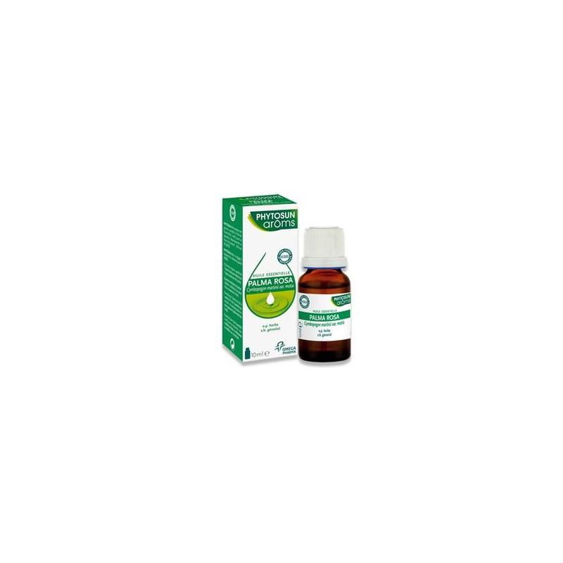 Phytosun Aroms PALMA ROSA (cymbopogon martinii) 10ml disponible sur Pharmacasse