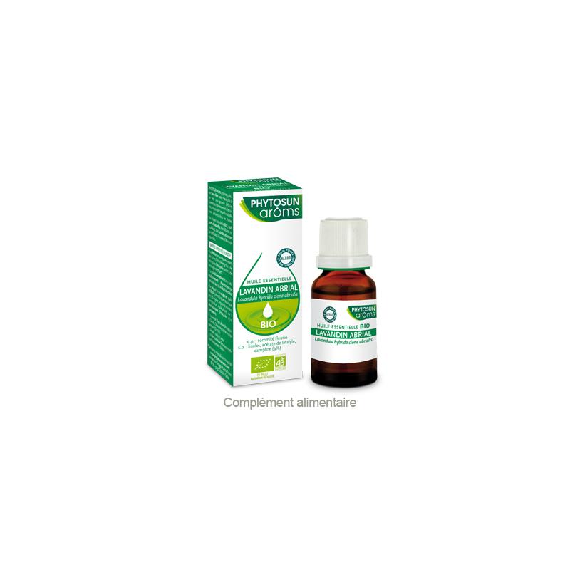 Phytosun Aroms Lavandin Abrial Bio 10ml disponible sur Pharmacasse