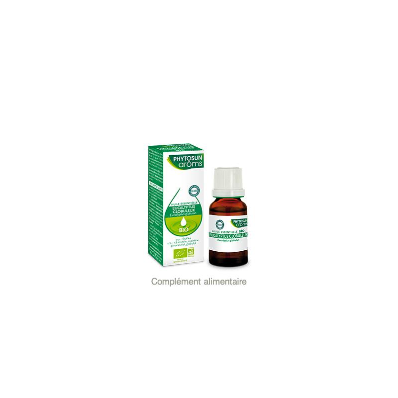 Phytosun Aroms Ecalyptus Globuleux Bio 10ml disponible sur Pharmacasse