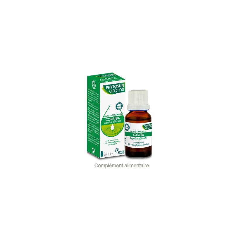 Phytosun Aroms Baume de copaiba 10ml disponible sur Pharmacasse