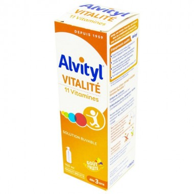 ALVITYL Solution multivitaminée 11 vitamines 150 ml