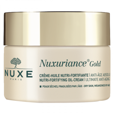 NUXE Nuxuriance Gold Crème Huile Nutri-fortifiante 50ml