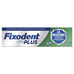Fixodent Pro Plus La meilleure technologie antibactérienne 40g